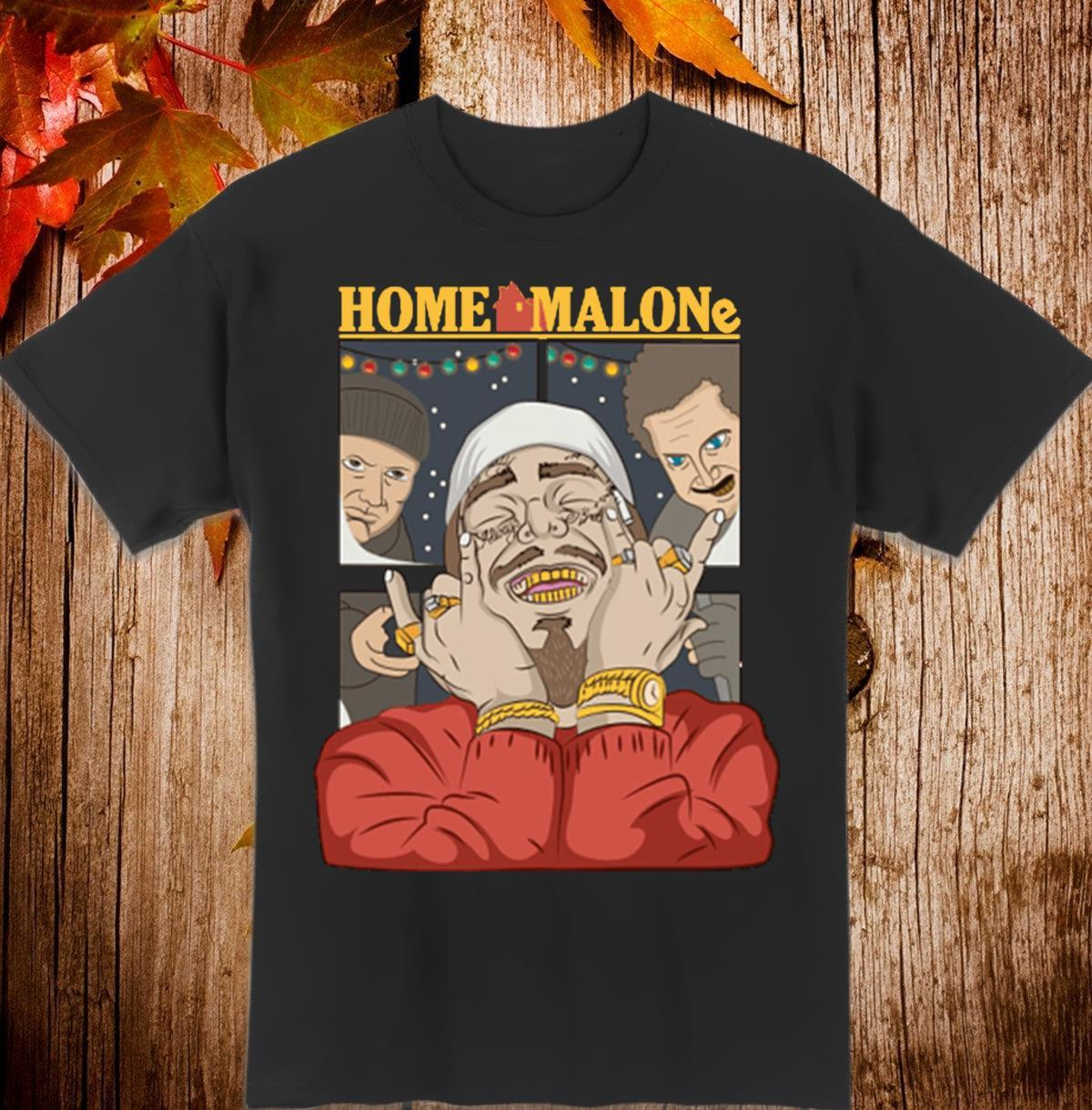 Official Home Malone Post Malone Christmas Shirt, Hoodie