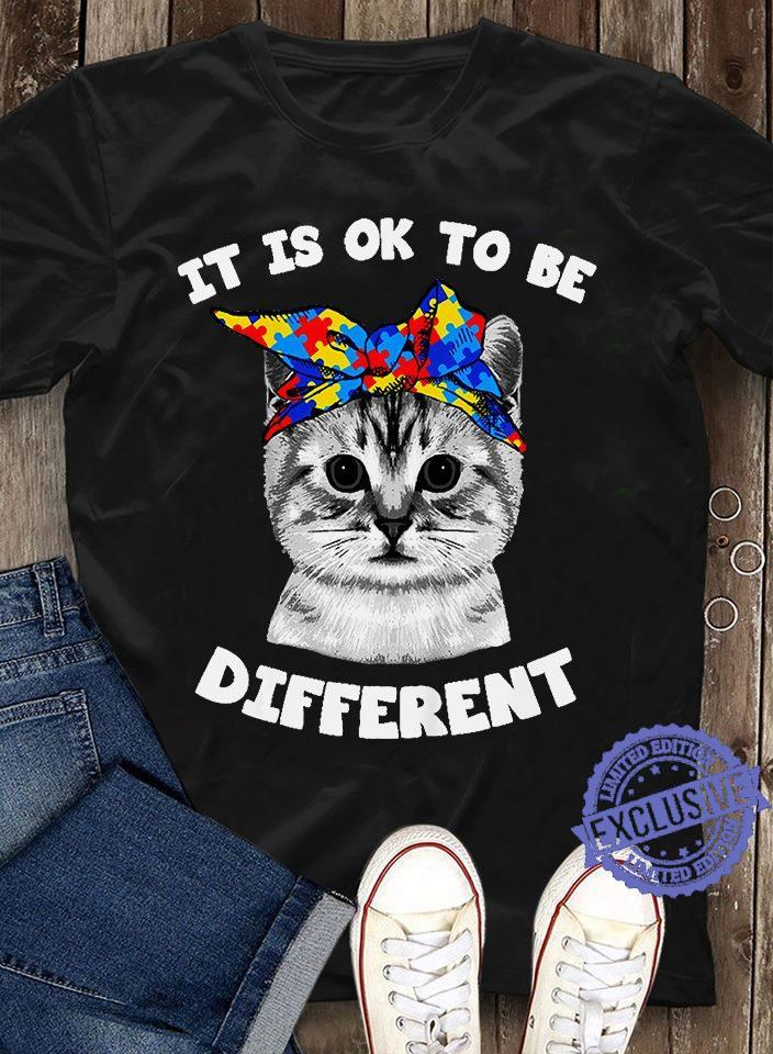 It is ok to be different shirt