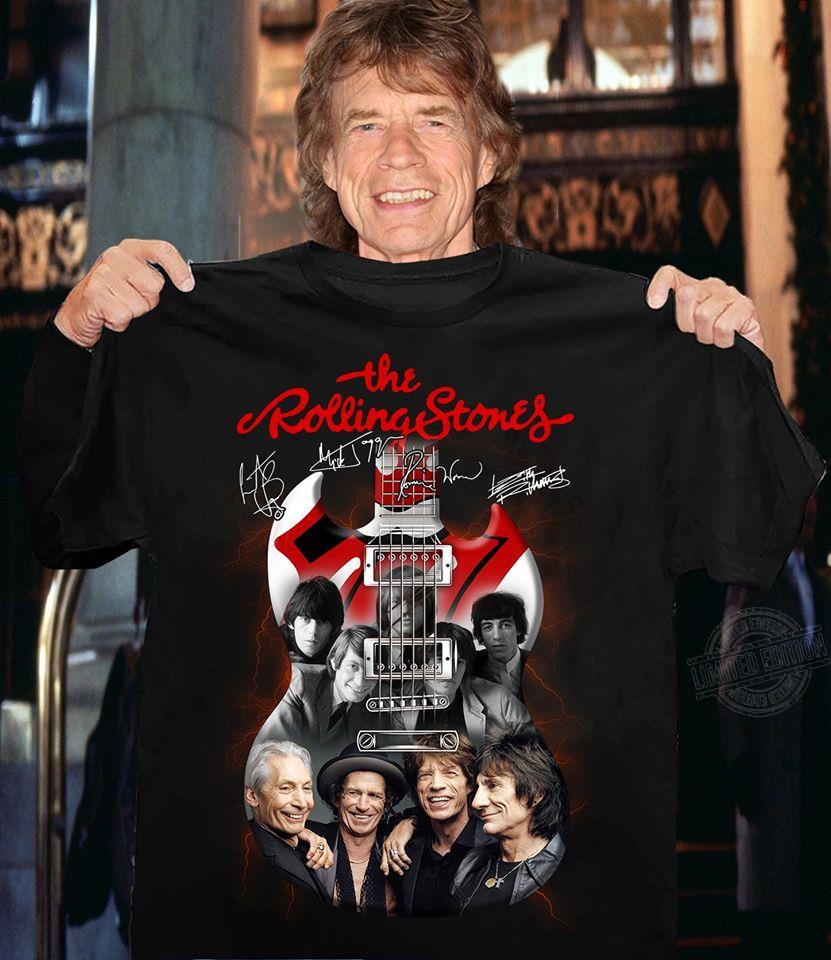 The rolling stones guitar Shirt