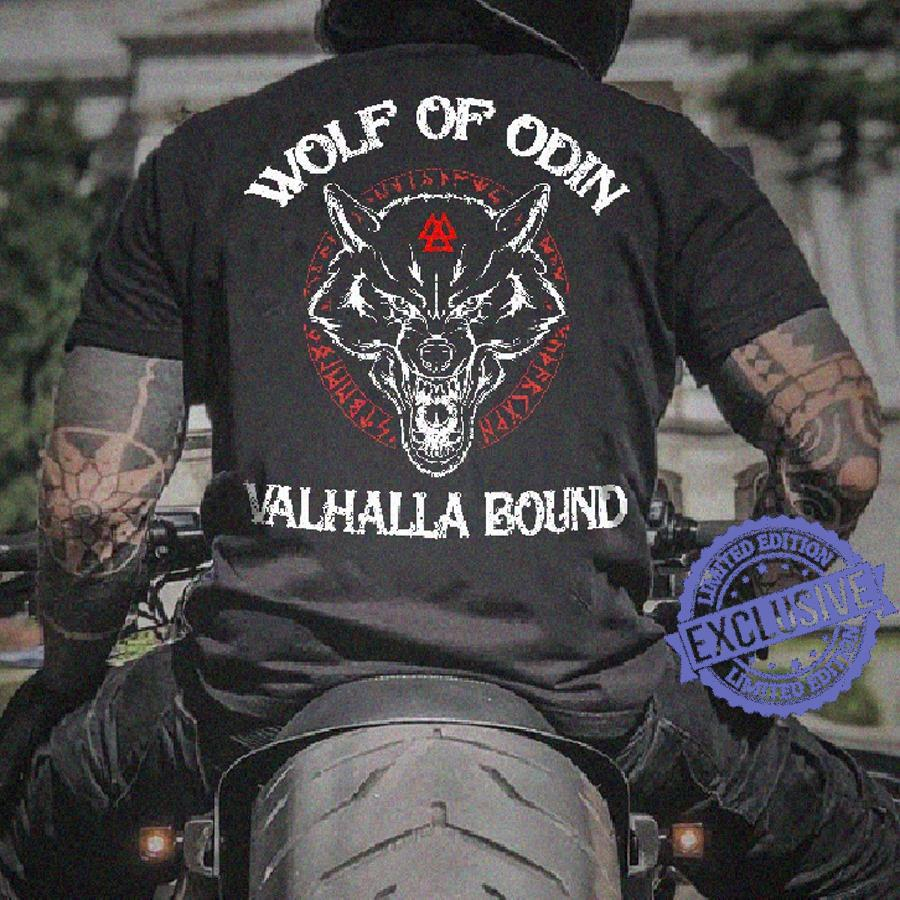 Wolf of odin valhalla bound shirt